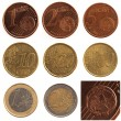 Euro Coin Set — Foto Stock