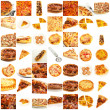 Assortment Of Pizza — Stock Photo