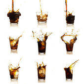 Assortment Of Cola Drinks — Stock Photo
