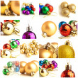 Set Of Christmas Balls — Stock Photo #13360341