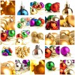 Set Of Christmas Balls — Stock Photo #13360377