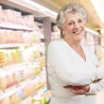 Portrait Of Happy Senior Woman — Stock Photo #13362956
