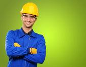 Retrato de um engenheiro — Fotografia Stock