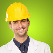 Portrait Of Happy Architect — Stock Photo