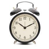 Black Classic Style Alarm Clock — Stock Photo