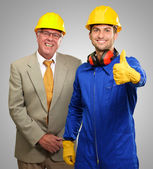 Two Architect Engineers — Stock Photo