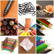 Assortment Of Stationery Supplies — Stock Photo #14053149