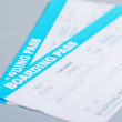 Airline Boarding Pass — Stock Photo