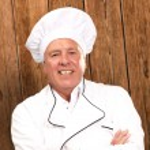 Portrait Of A Senior Male Chef — Stock Photo #14056342