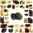 Set Of Avocado - Stock Photo