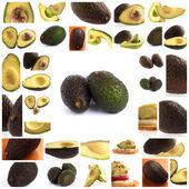 Set Of Avocado — Stock Photo