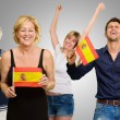 Happy Spanish Family Enjoying — Stock Photo