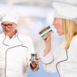 Royalty-Free Stock Photo: Portrait Of Two Chef