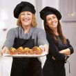Royalty-Free Stock Photo: Portrait Of Two Happy Chef