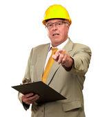 Portrait Of A Senior Architect — Stock Photo