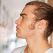 Portrait Of Pensive Young Man — Stock Photo