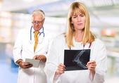 Retrato de dos médicos — Foto de Stock