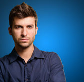 Portrait Of Young Man — Stock Photo