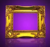 Golden kunst rahmen — Stockfoto