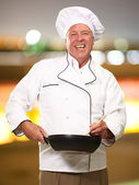 Portrait Of A Male Chef — Stock Photo
