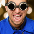 Stock Photo: Portrait of engineer wearing goggle