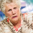 Stock Photo: Portrait Of Angry Senior Woman