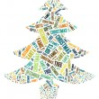Illustration Of Christmas Tree - Stock Photo