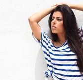 Young Beautiful Woman Posing — Stock Photo