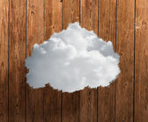Close-up Of White Cloud — Stock Photo