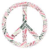 Peace Sign — Stock Photo
