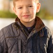 Portrait Of A Small Boy - Stock Photo