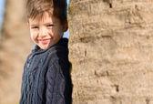 Mutlu gülen çocuk portresi — Stok fotoğraf