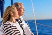 Happy Mature Couple On Vacation — Stock Photo