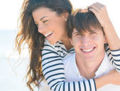 Happy Couple Enjoying Together — Foto Stock