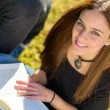 Portrait Of Young Female Student — Stock Photo