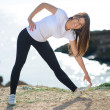 Pretty Woman Exercising — Stock Photo #23478794