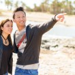 Stock Photo: Young Couple On Vacations