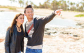Young Couple On Vacations — Stock Photo