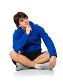 Young Man Contemplating — Stock Photo