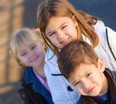 Portrait Of Happy Small Children — Stock Photo