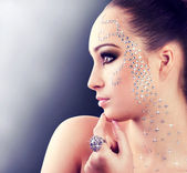 Chica diamante — Foto de Stock