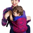 Happy mother with son — Stock Photo