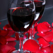 Two glasses of wine — Stock Photo #21616009
