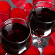 Two glasses of wine — Stock Photo #21616035