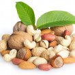 Collection of nuts — Foto de Stock