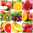 Fruit collage — Stock Photo #23479967