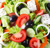 Fresh vegetable salad — Stockfoto
