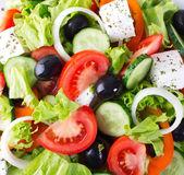 Färska grönsakssallad — Stockfoto