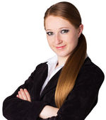 Portrait of businesswoman — Stockfoto