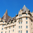 Chateau Laurier Hotel in Ottawa — ストック写真